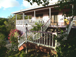 St John vacation rental Meridian is a charming style rental