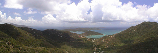 St John USVI vacation rental Viewtiful expansive views of surrounding islands